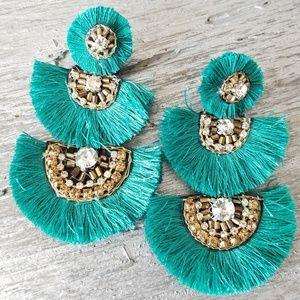 Earings Fan Boho Fan Earrings